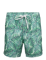 MEDIUM DRAWSTRING 71 - JUNGLE PRINT GREEN