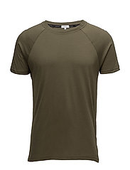 RELAXED CREW TEE, 31 - OLIVE NIGHT