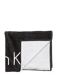 TOWEL, 001, OS - BLACK
