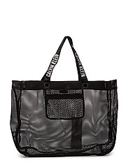MESH BEACH HOLD ALL - BLACK