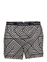 SKINNY FIT BOXER 9RF - REFLECTIVE LINES BLACK