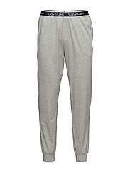 PANT CUFFED 080, S - GREY HEATHER