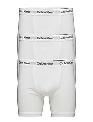 3P BOXER BRIEF, 001, - WHITE