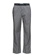 PJ PANT  - TRIPLE SKINNY STRIPE BLACK