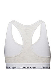BRALETTE UNLINED, SN - SNOW HEATHER_NEON NEPS