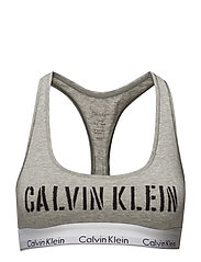 BRALETTE UNLINED, NI - STENCIL LOGO_GREY HEATHER