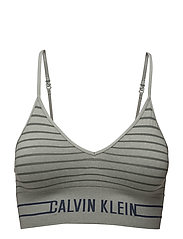 BRALETTE UN LONG MUL - SIMPLE STRIPE_GREY HEATHER