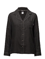L/S BUTTON DOWN, 038 - CHARCOAL HEATHER