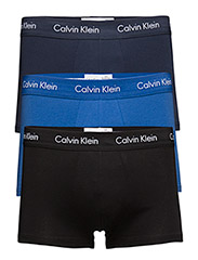 3P LOW RISE TRUNK 00 - BLACK/COBALT W/BLUE