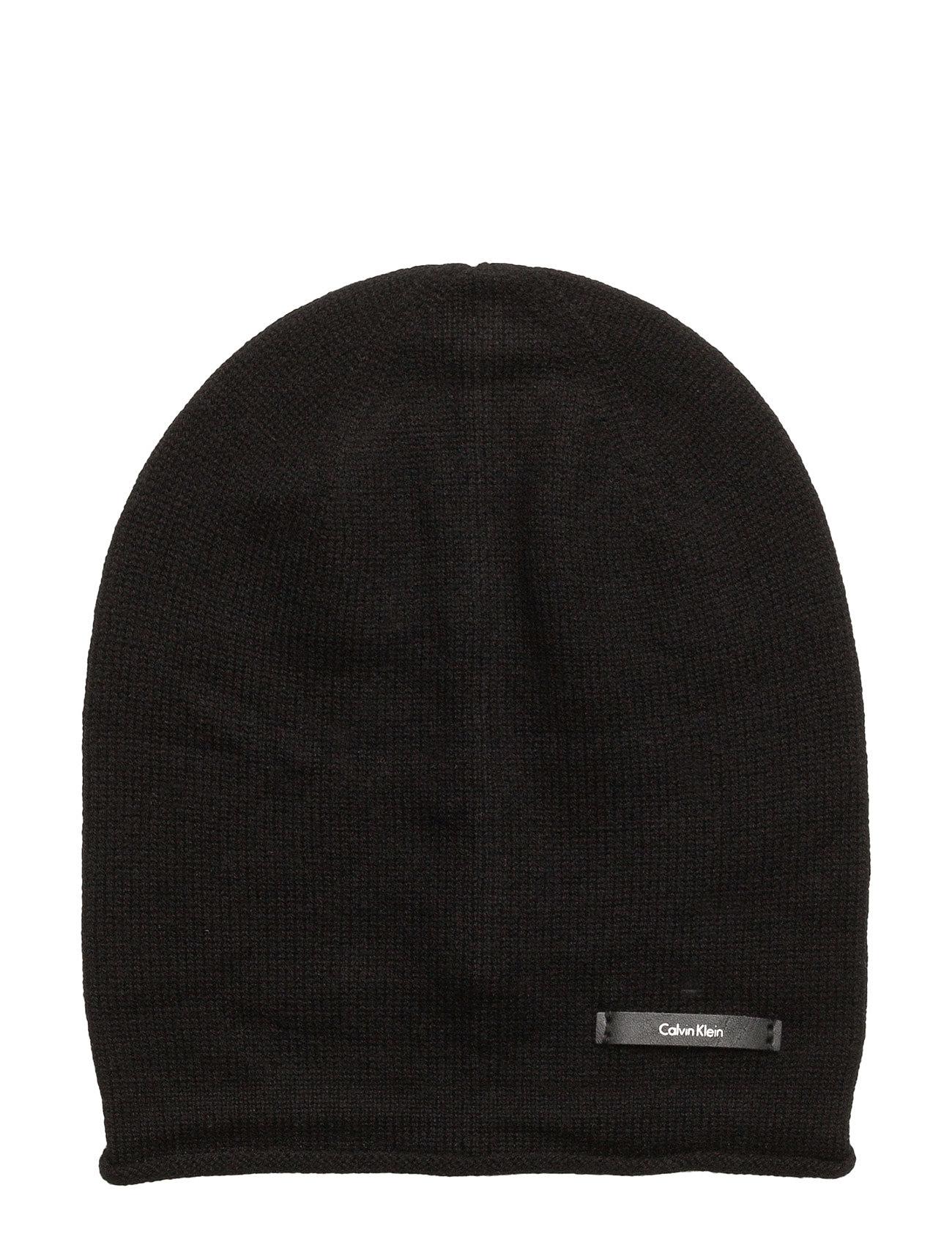 Sylvia Beanie, 001, Calvin Klein Hatte & Caps til Damer i Sort