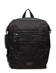 LARS BACKPACK 001, O - BLACK