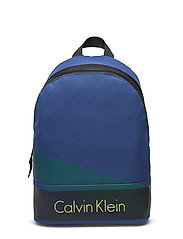 COL3 NYLON BACKPACK - MONACO BLUE