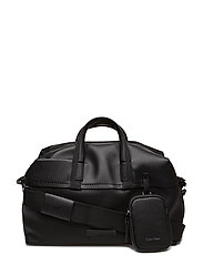 JOAH MEDIUM DUFFLE, - BLACK