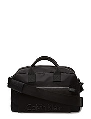 ALEC MEDIUM DUFFLE, - BLACK