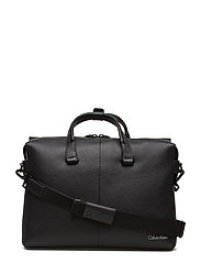DOUBLE TACK LAPTOP BAG - BLACK