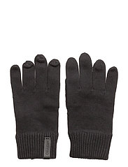 OCTAVE KNITTED GLOVE - BLACK