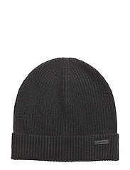 SAHAT BEANIE, 001, O - PERFECT BLACK