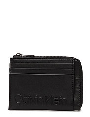 ESSENTIAL CARDHOLDER W ZIP - BLACK