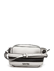 LUC7 SMALL CROSSBODY - POWDER WHITE