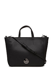 OLIVIA LARGE TOTE - BLACK