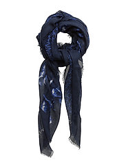 DEGRADE SCARF, 001, - BLUE NIGHT