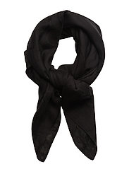 TINA SP SCARF, 001, - BLACK