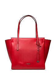 FRAME LARGE SHOPPER, - SCARLET