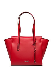 FRAME MEDIUM SHOPPER - SCARLET
