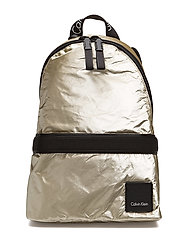 FLUID BACKPACK METAL - LIGHT GOLD
