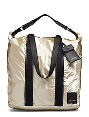 FLUID LARGE SHOPPER - LIGHT GOLD