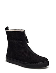SHOES - BLACK ANA.SUEDE/BLACK SOLD 200