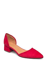 PUMPS - RED BLOOD SUEDE 59