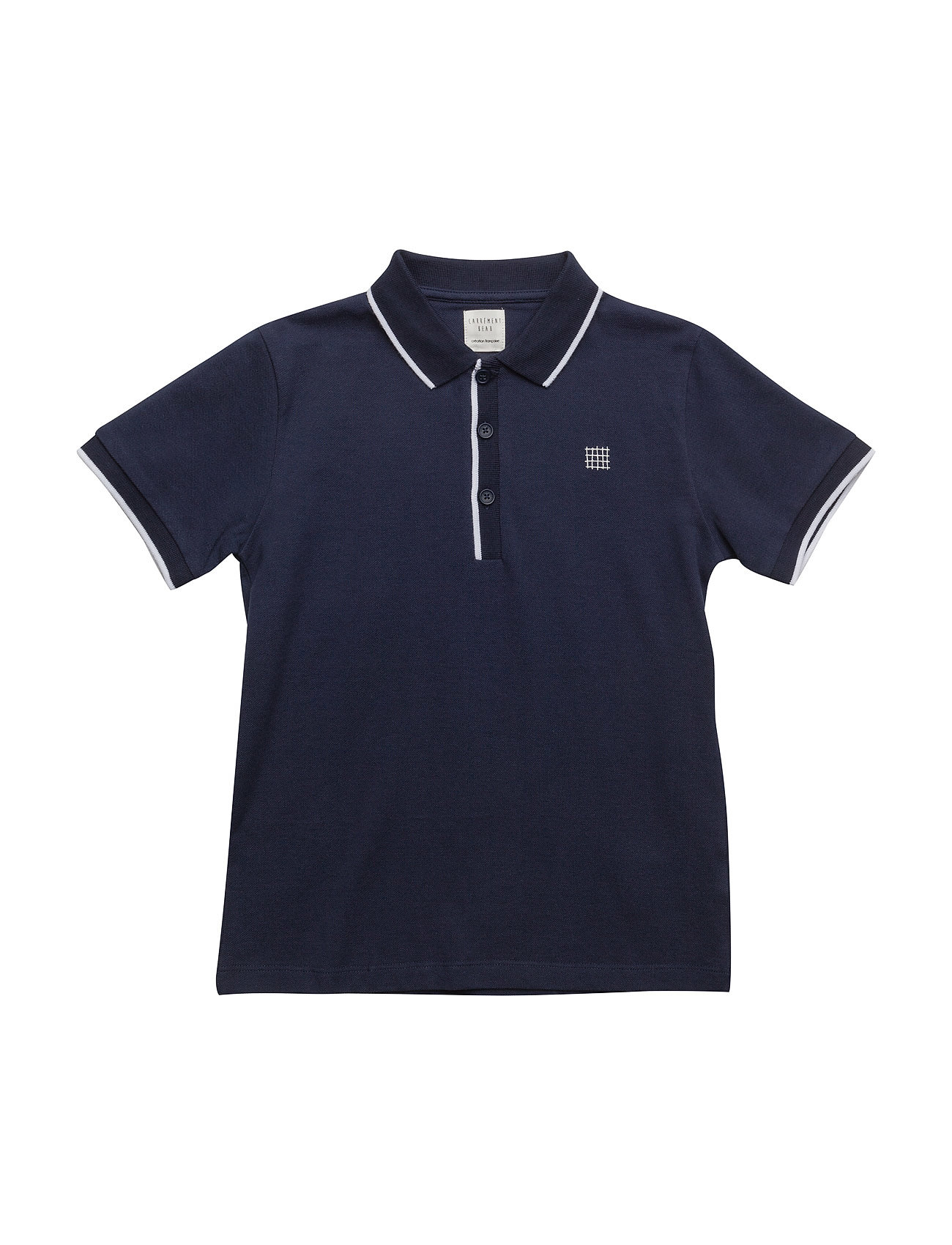 Polo Shirt Carrément Beau Kortærmede t-shirts til Børn i Navy blå