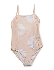 SWIMMING COSTUME - PALE PINK