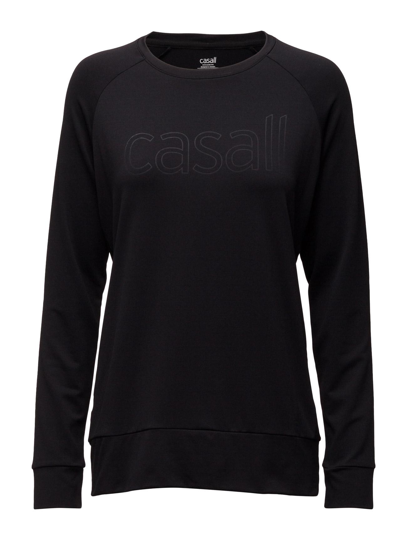 Pure Crew Casall Sweatshirts til Damer i Sort