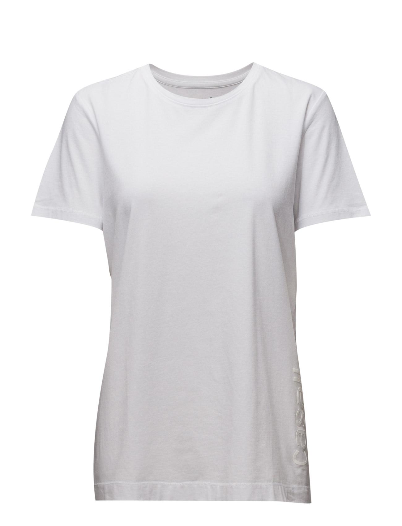Oversized Tee Casall Løbe t-shirts til Damer i hvid