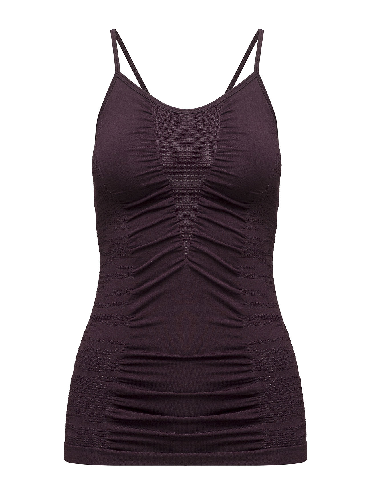 Knitted Brushed Straptank Casall Sports tank toppe til Damer i Plum Perfect