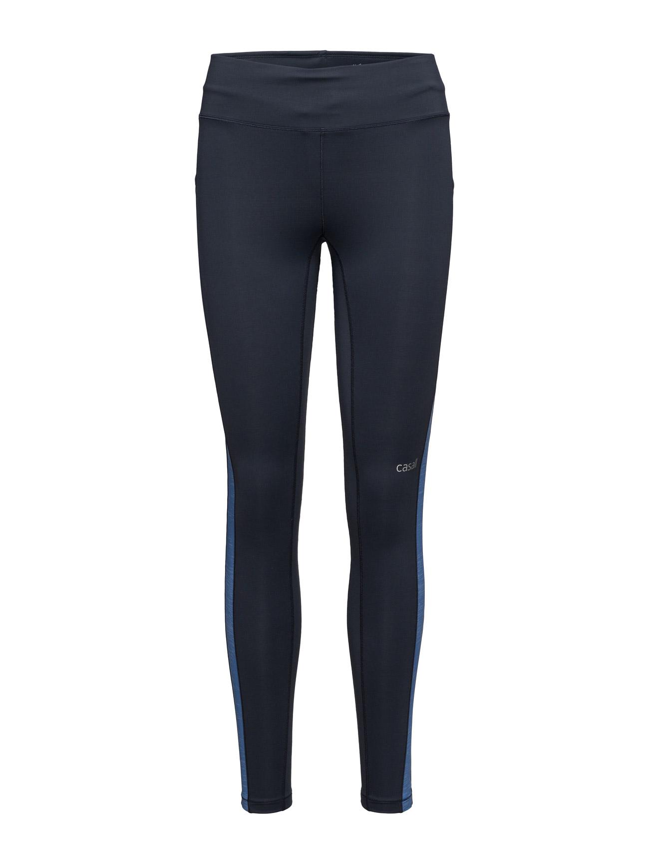 Structured Panel Tights Casall Trænings leggings til Kvinder i
