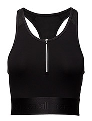 Simply awesome cropped tank - BLACK