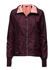 District wind jacket - PLUM NIGHT