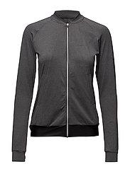 Training jacket - DK GREY MELANGE