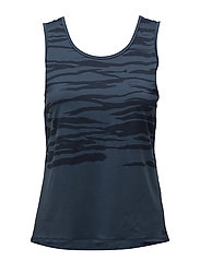 Graphic loose tank - DK BLUE MOON