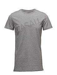 M Graphic tee - GREY MELANGE