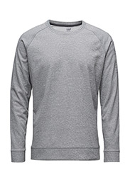 M Tech crewneck - GREY MELANGE