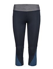 Melange contrast 3/4 tights - OUTER SPACE BLUE