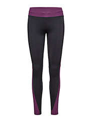 Melange contrast tights - MAGENTA PERFECT