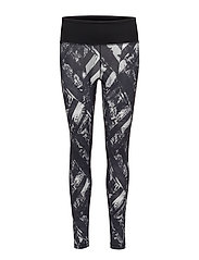 Mystic 7/8 tights - DISTORTED FLOWER