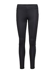 Zebra reflective tights - BLACK