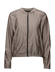 Metal shine jacket - POWDER METALLIC
