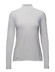 Mock neck long sleeve - WHITE